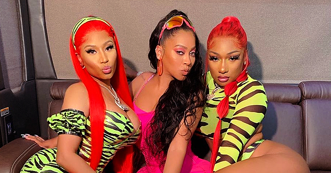 La La Anthony Poses with Nicki Minaj and Megan Thee Stallion in 'Hot Girl Summer' Photo