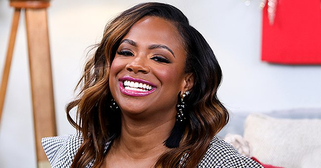Kandi Burruss Jokes Her Baby Blaze Is Acting like the Incredible Hulk Playing with Brother Ace