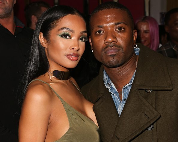 Rapper Ray J and his Wife Princess Love at Tyga's Birthday celebration in West Hollywood, California.| Photo: Getty Images.