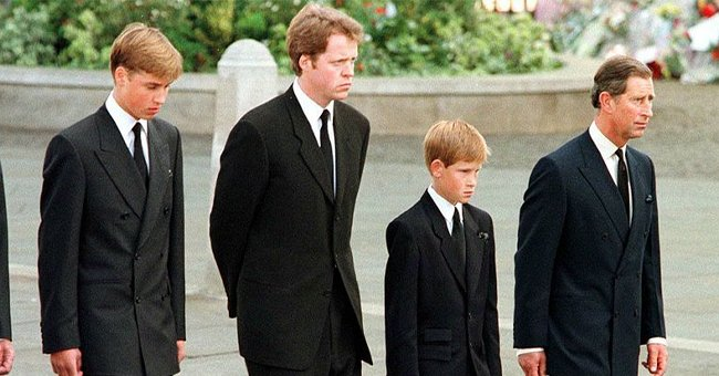 Prince Harry in Rare Footage at Princess Diana's Funeral to Be Shown in Upcoming Documentary