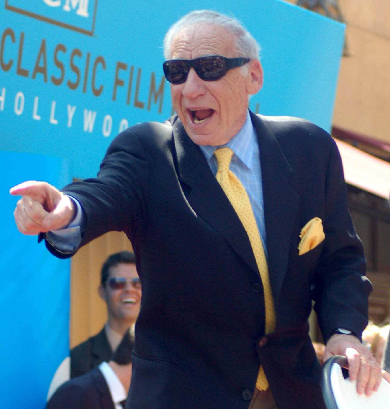 Mel Brooks at his Hollywood Walk of Fame ceremony, April 2010 | Source: Wikimedia Commons
