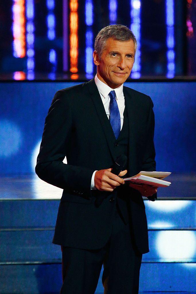 Le présentateur Nagui dans l'une de ses émissions. l Source : Getty Images