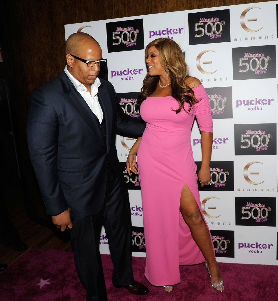 "Wendy Williams and her husband Kevin Hunter attends ""The Wendy Williams Show"" 500th episode celebration at Element 
