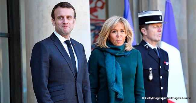 """La nuit où Emmanuel Macron a accidentellement appuyé sur un """"bouton de panique"""" et mis sa femme dans l'embarras"""