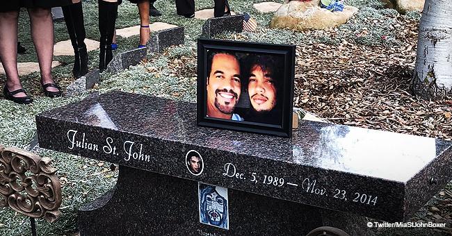 Kristoff St. John est enterré à côté de son fils : Le cri du cœur de son père à l'enterrement