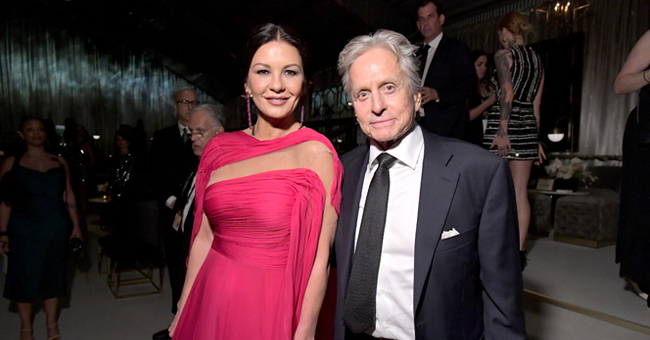 Michael Douglas' Wife Catherine Zeta-Jones, Daughter Carys & Mom-In-Law Struggle to Take Selfie & Make Fans Laugh in Video