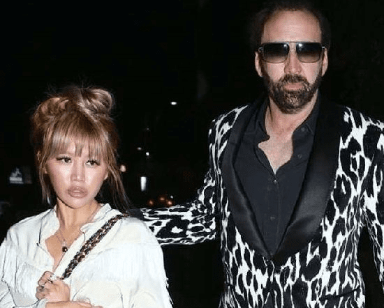 Erika Koike and Nicolas Cage on a date night in Los Angeles on May 20, 2018 Photo: Daily Mail
