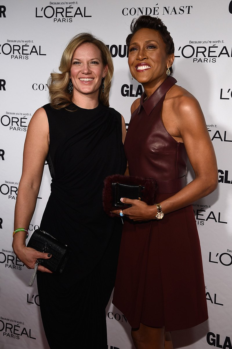 Robin Roberts (R) and Amber Laign attend the Glamour 2014 Women Of The Year Awards at Carnegie Hall on November 10, 2014 in New York City.  I Image: Getty Images.