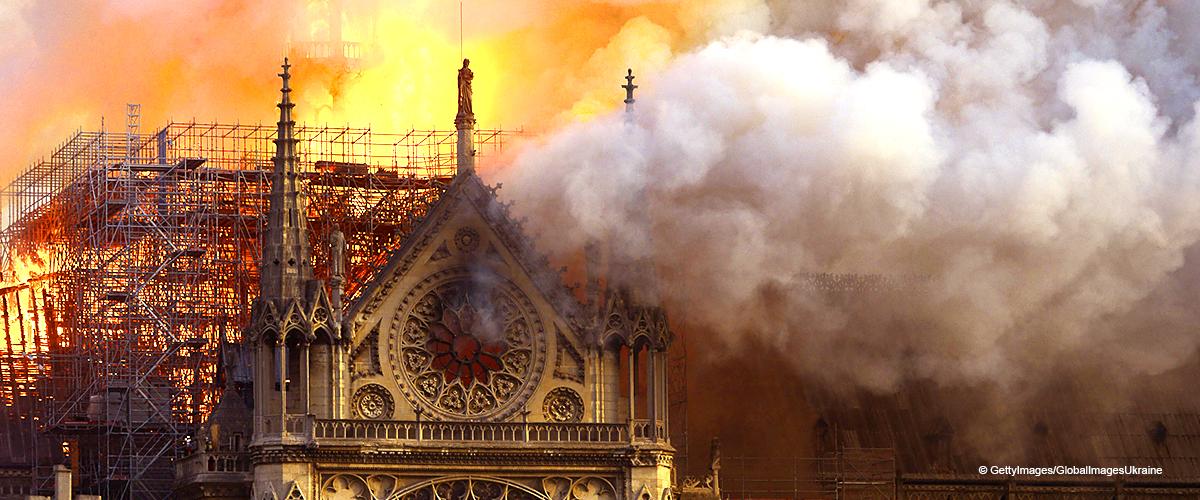 Notre-Dame de Paris : les premières images d'une partie de l'intérieur après l'incendie