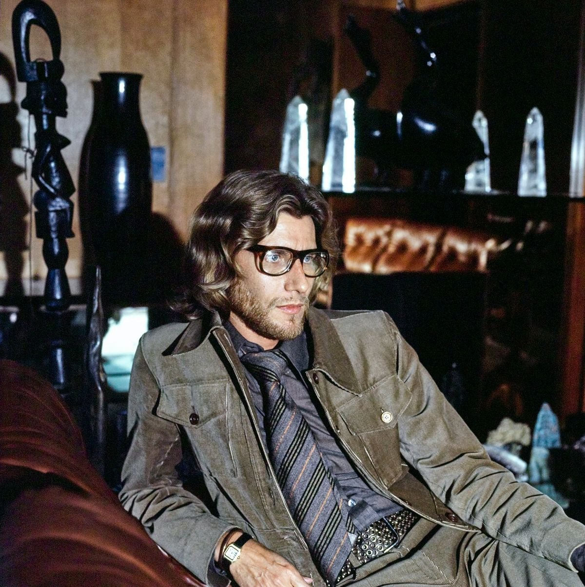 Le grand couturier Yves Saint Laurent | Photo : Getty Images.