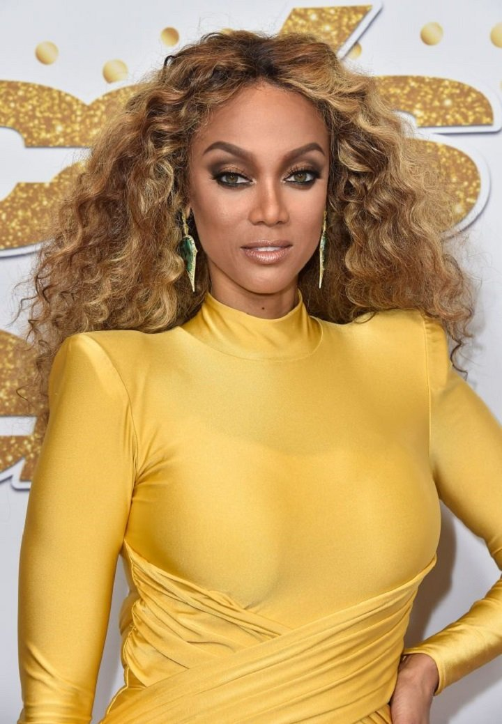 """Tyra Banks attending the """"America's Got Talent"""" Season 13 Live Show at Dolby Theatre in Hollywood, California in August 2018. I Image: Getty Images."""
