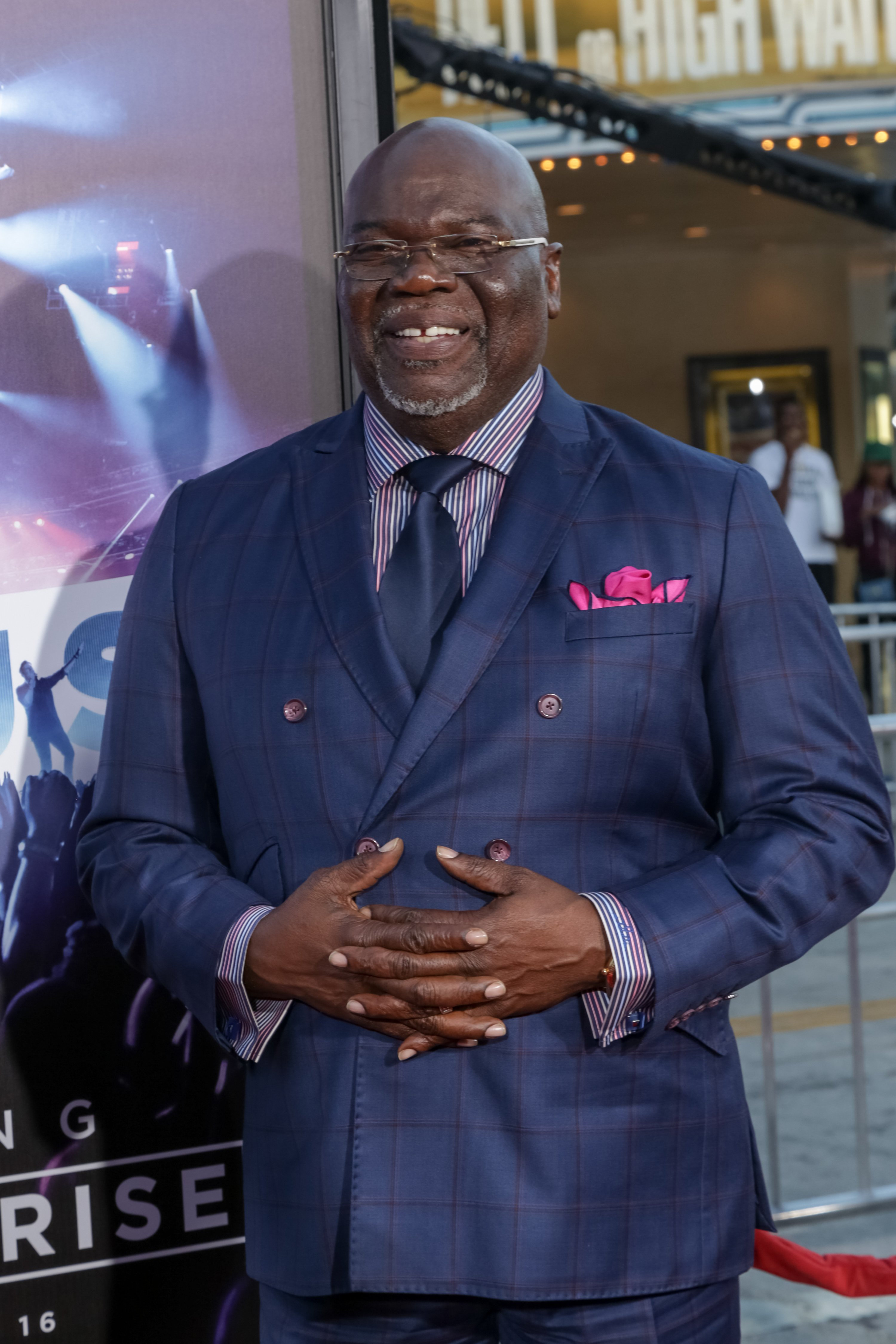 """Bishop TD Jakes attends the Premiere Of Pure Flix Entertainment's """"Hillsong: Let Hope Rise"""" at the Mann Village Theatre on September 13, 2016 in Westwood, California. 