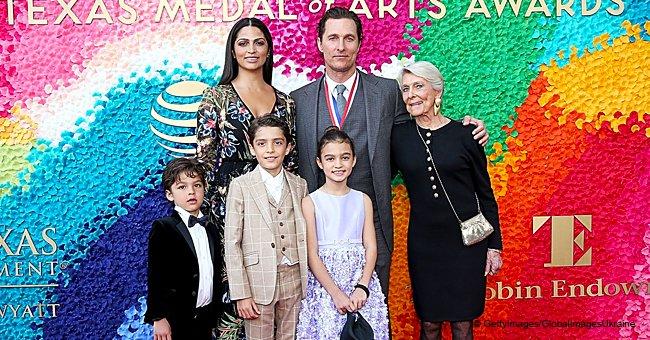 Matthew McConaughey et ses 3 enfants font leur première sortie publique en 4 ans