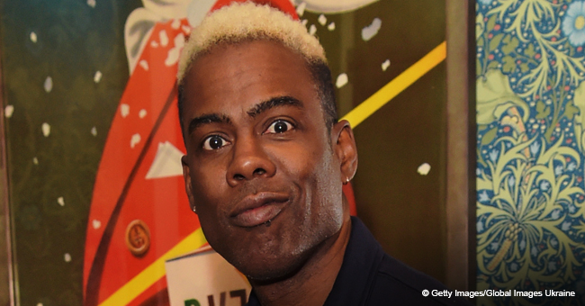 Chris Rock Debuts Blond Hair as He Steps out with His Beautiful 16-Year-Old Daughter Lola