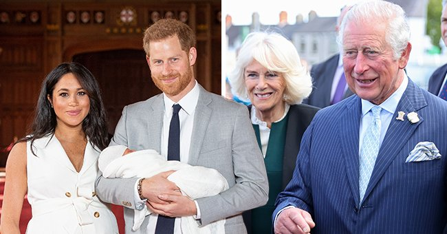 Charles & Camilla Are All Smiles at Their 1st Joint Public Appearance since Baby Lili's Birth
