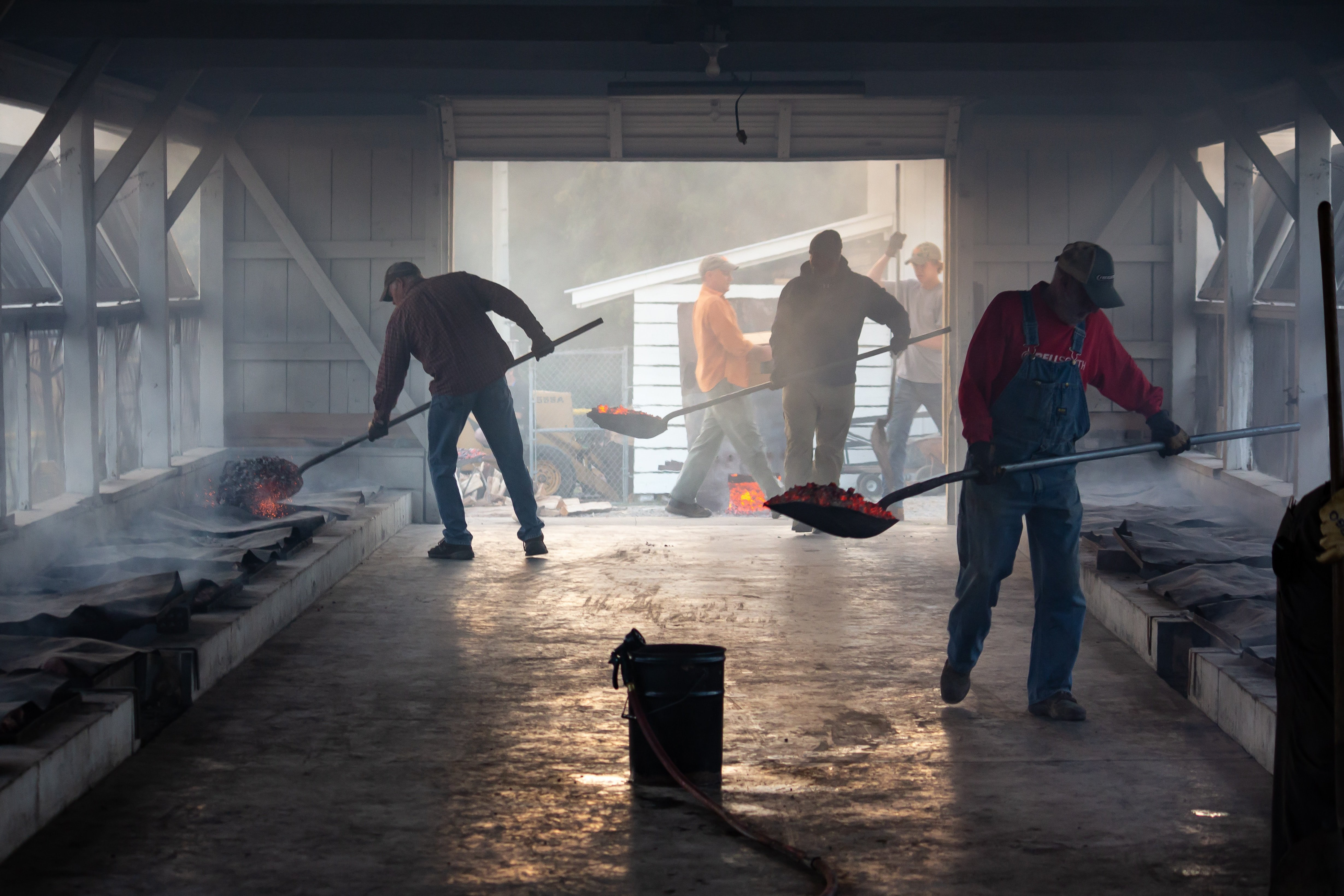 Factory workers on duty | Source: Unsplash.com