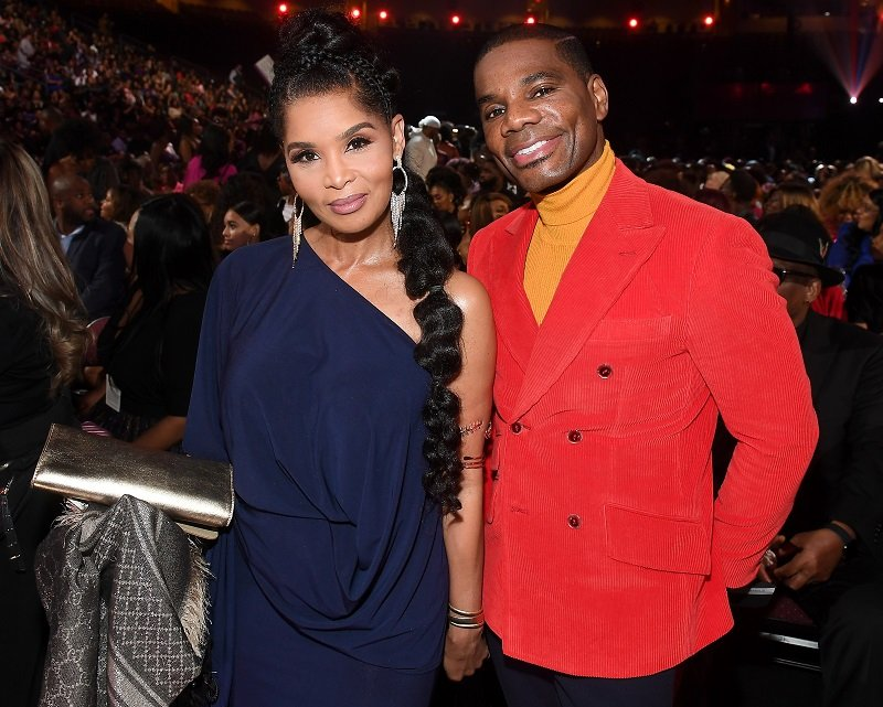 Tammy Collins and Kirk Franklin on November 17, 2019 in Las Vegas, Nevada | Photo: Getty Images