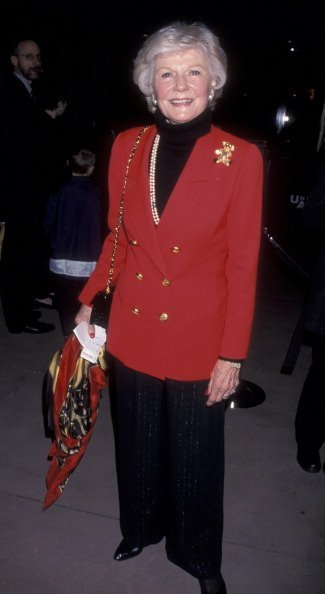 "Actress Barbara Billingsley attends the opening of ""Radio City Christmas Spectaculor"" on December 11, 1998 at the Universal Ampitheater in Universal City, California 