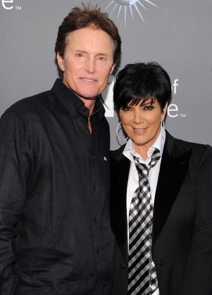 Bruce Jenner, Kris Kardashian arrive for the City of Hope honoring Shelli And Irving Azoff. | Source: Getty Images