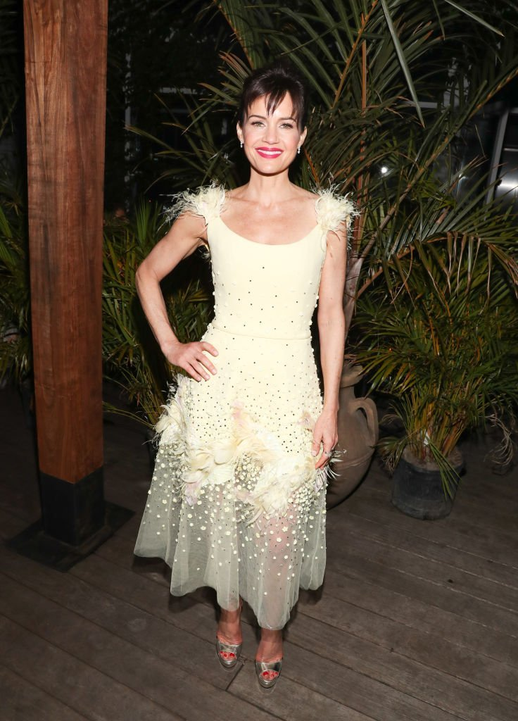 """Actress Carla Gugino attends the New York Screening of """"Jett"""" - after party at Gitano Jungle Terraces  