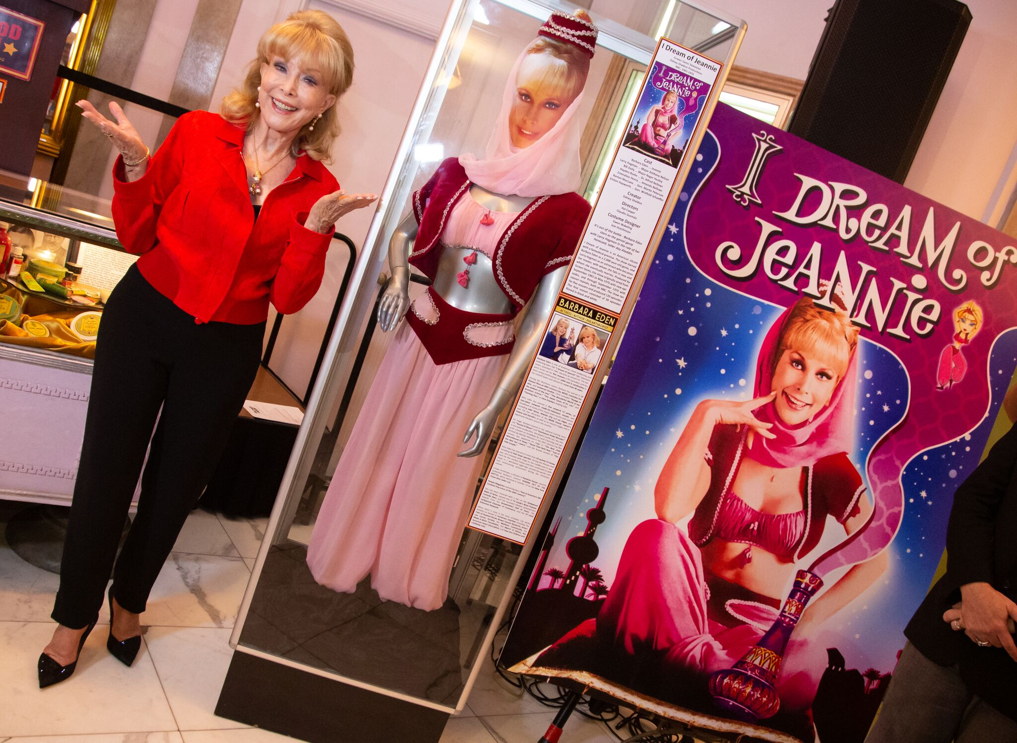 Barbara Eden is Honored At The Hollywood Museum's Lobby Series Tribute at The Hollywood Museum | Getty Images