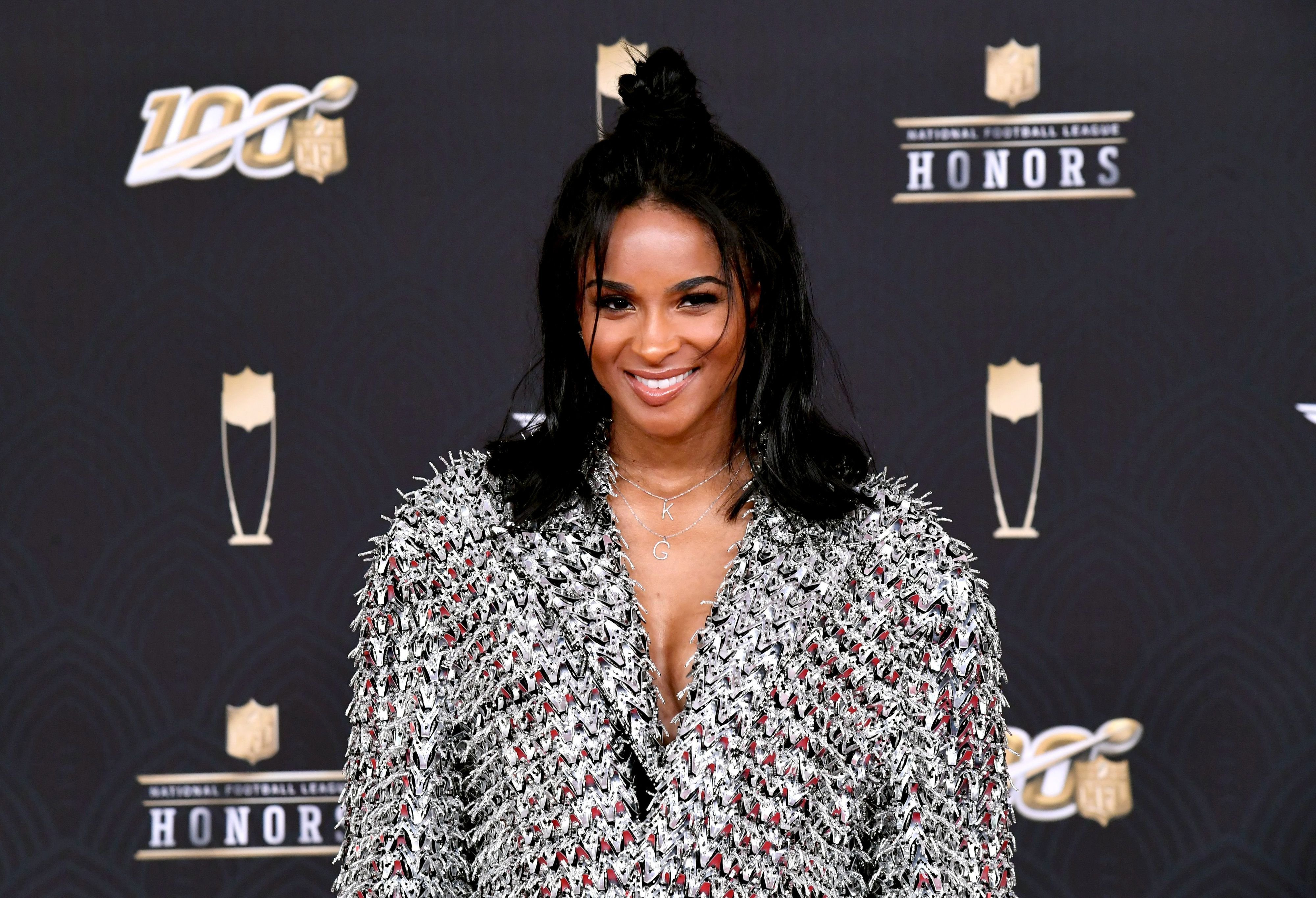 Ciara during the 9th Annual NFL Honors at Adrienne Arsht Center on February 01, 2020 in Miami, Florida. | Source: Getty Images