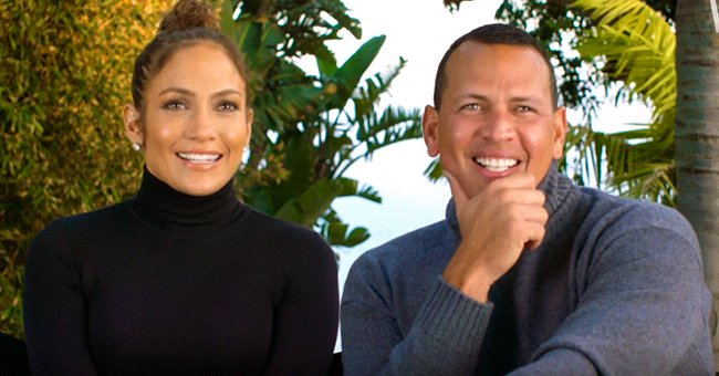 Jennifer Lopez Shows off Huge Bouquet of Roses from Alex Rodriguez on Valentine's Day
