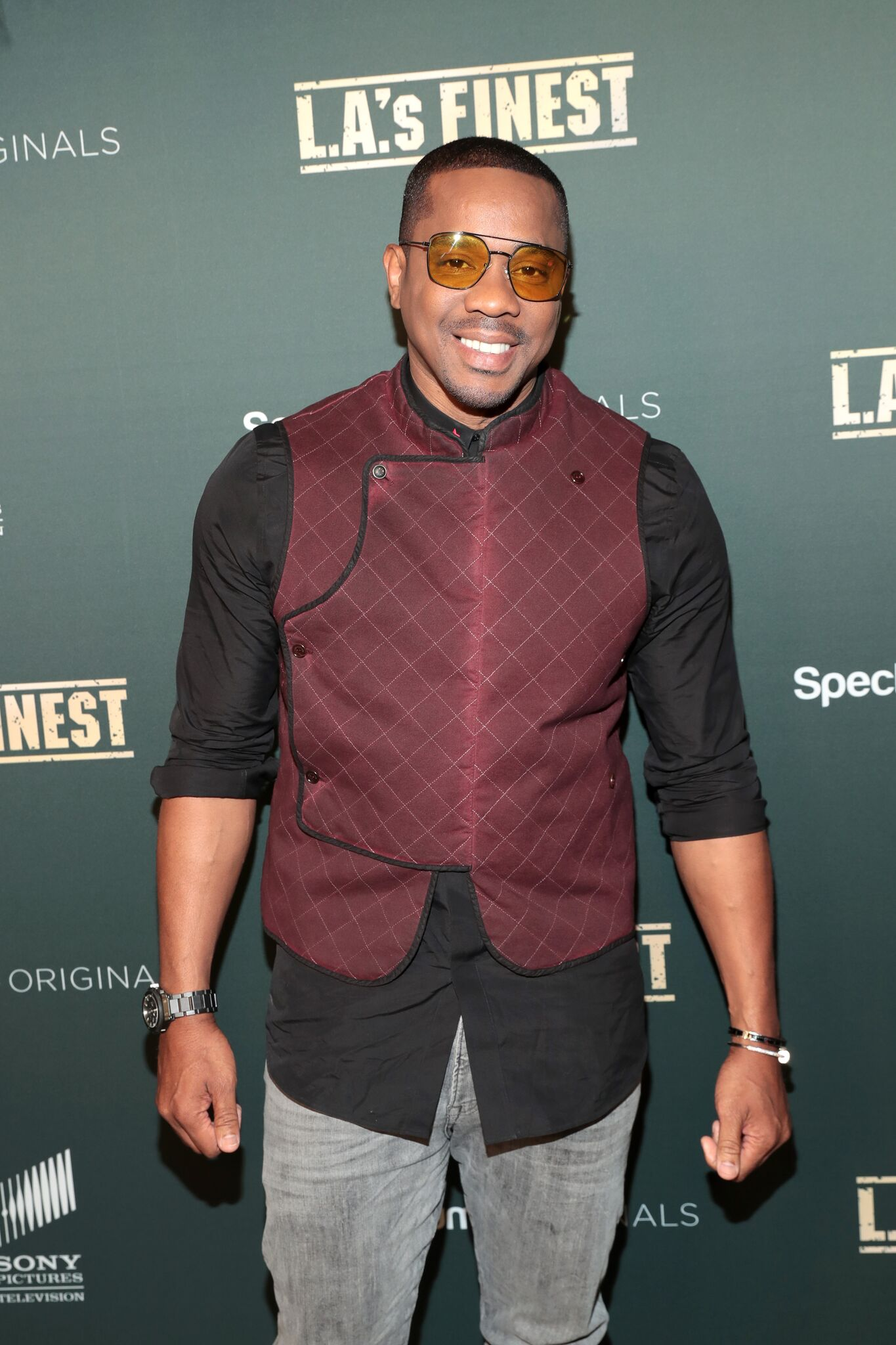 """Duane Martin attends Spectrum Originals and Sony Pictures Television Premiere Party for """"L.A.'s Finest"""" at Sunset Tower on May 10, 2019 