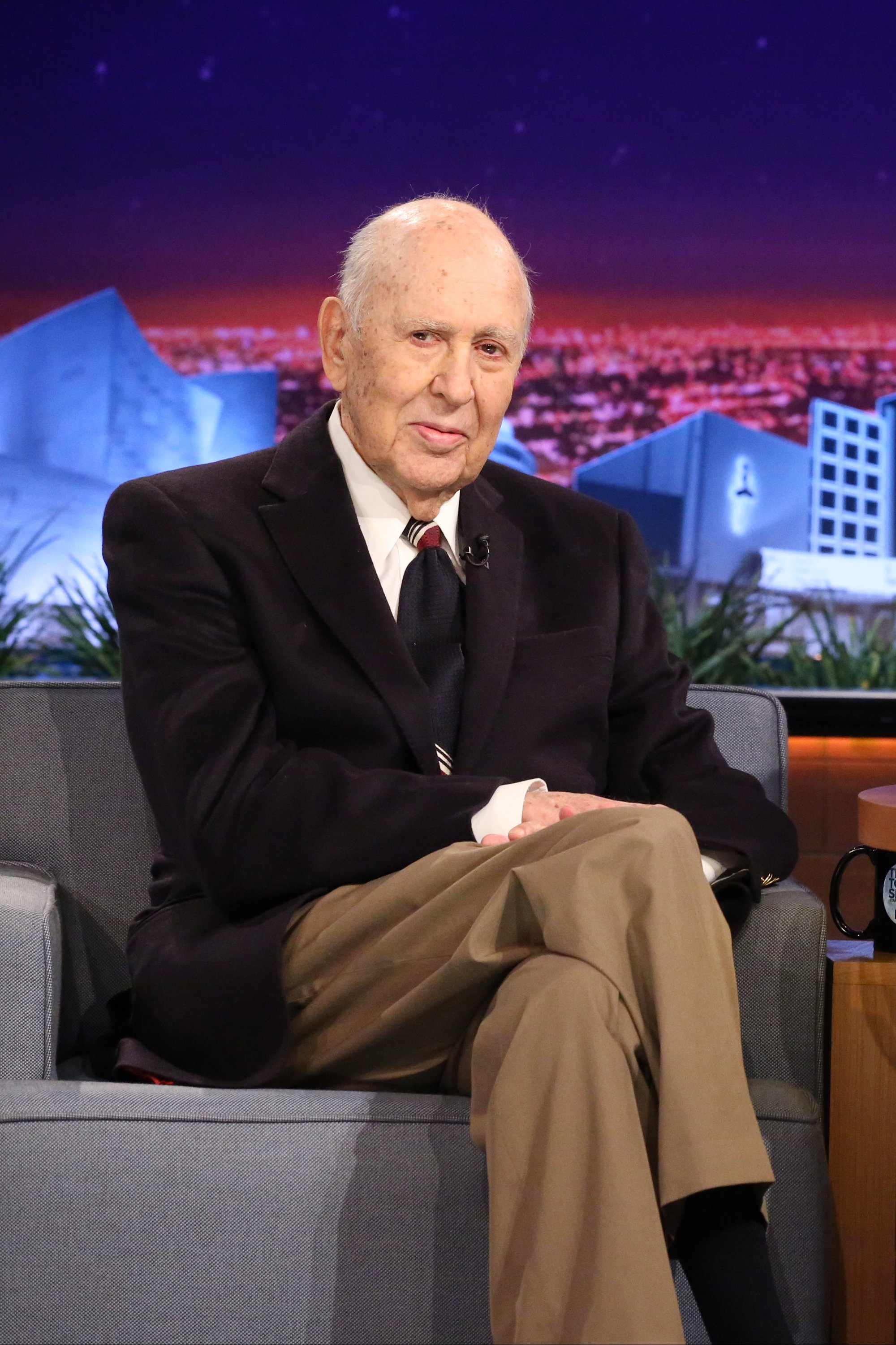 "Carl Reiner on ""The Tonight Show Starring Jimmy Fallon"" on  February 4, 2015 