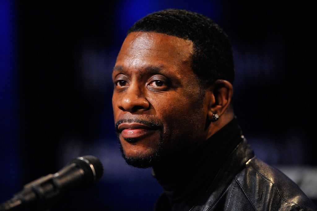 Keith Sweat performs on Heart & Soul at SiriusXM Studio on March 11, 2016 | Photo : Getty Images