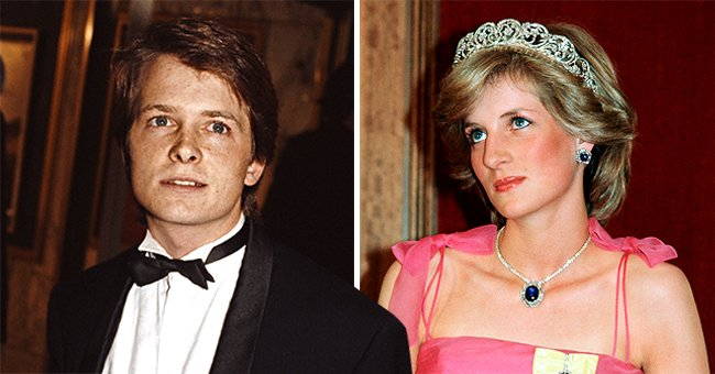 Michael J Fox Recalls Sitting Next to Princess Diana during 'Back to the Future' Premiere
