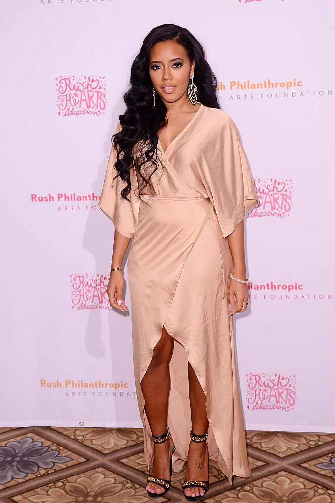 Businesswoman and reality star Angela Simmons attends the 2015 Rush HeARTS Education Valentine's Luncheon in New York City. | Photo: Getty Images