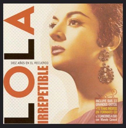 Portada de un disco de Lola Flores con una recopilación de sus éxitos. | Foto: Flickr
