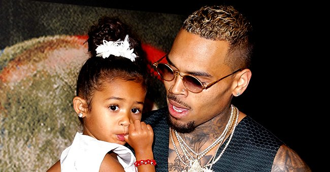 Chris Brown Is a Proud Dad as He Shares Photo of Daughter Royalty Drawing