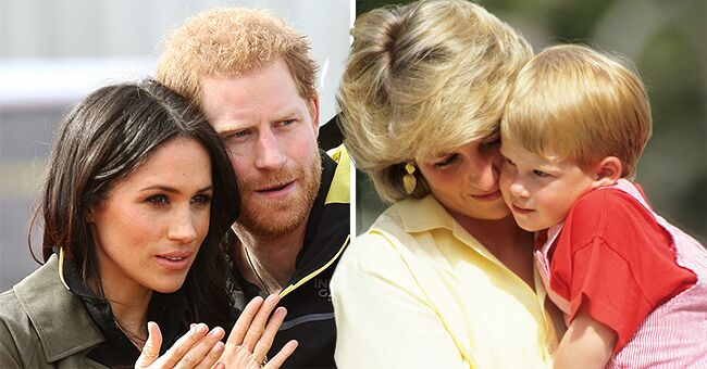 Prince Harry Defending Meghan Markle Is Strikingly Similar to William's Defense of Princess Diana