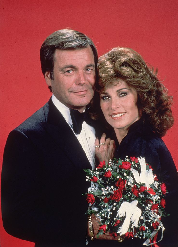 """Robert Wagner and Stefanie Powers who starred together on """"Hart to Hart"""" are pictured from circa 1980 