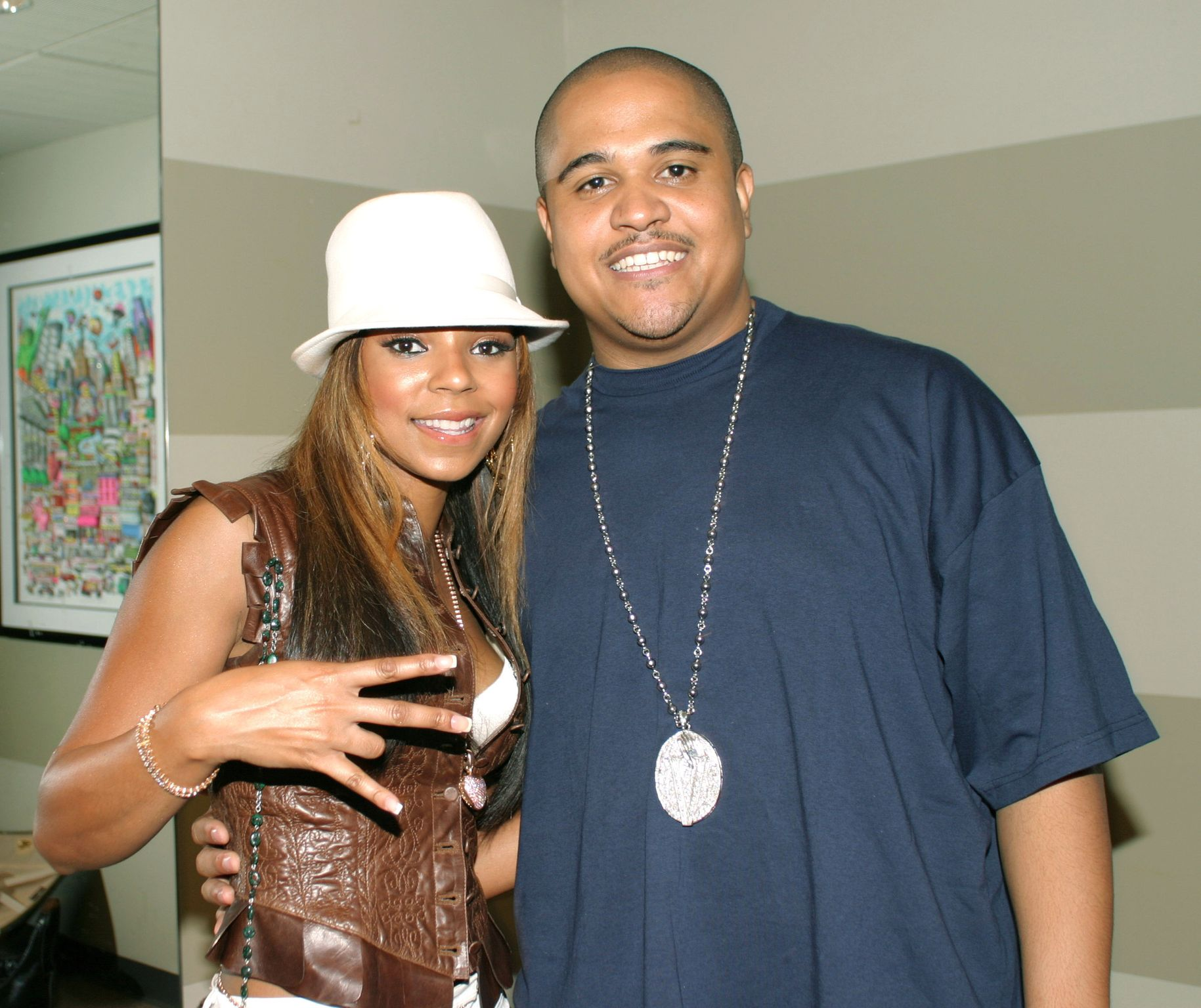 Singer Ashanti and producer Irv Gotti of Murder Inc. in 2003   Source: Getty Images