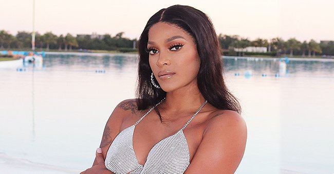 Joseline Hernandez Shares Cute Photos of Her & Stevie J's Daughter Bonnie Bella in a Black Jacket & White Tutu