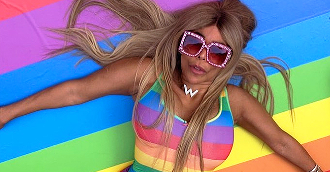 Wendy Williams Shows off Tiny Waist in Skin-Tight Rainbow Jumpsuit for NYC Pride