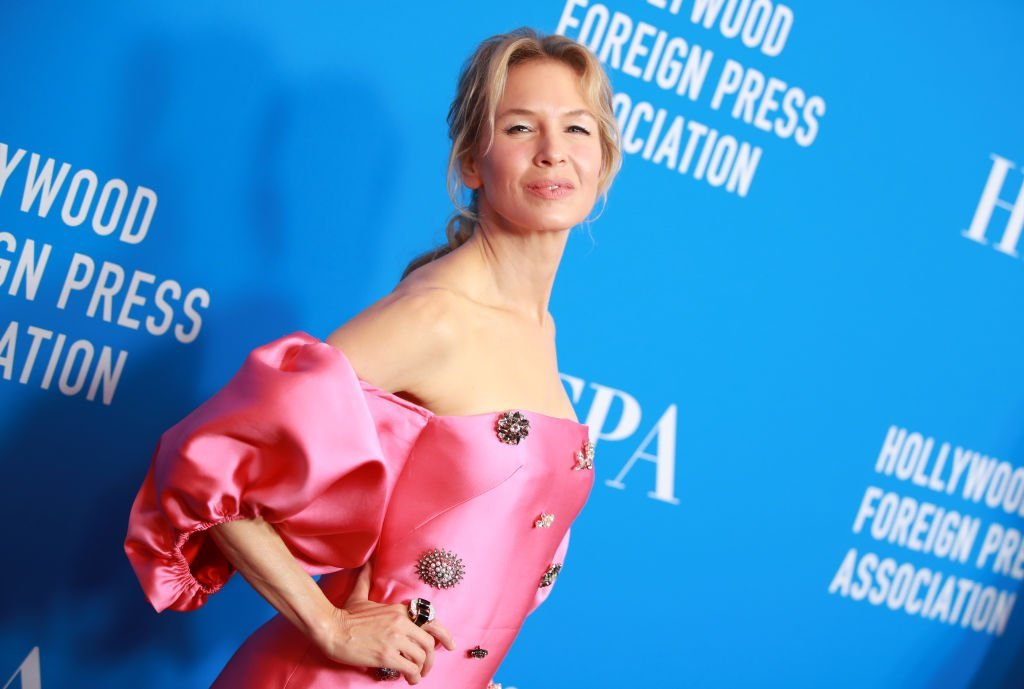 Renee Zellweger at the Hollywood Foreign Press Association's Annual Grants Banquet. | Source: Getty Images
