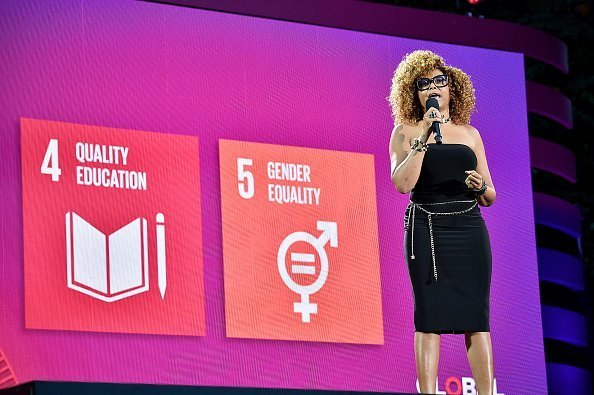 Taraji P. Henson speaks onstage during the 2019 Global Citizen Festival: Power The Movement in Central Park in New York City. | Photo: Getty Images