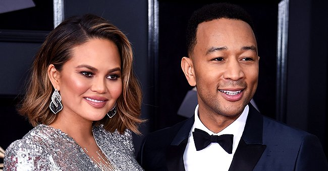 See Why John Legend and Chrissy Teigen's Son Was Laughing Out Loud during Their Family Dinner