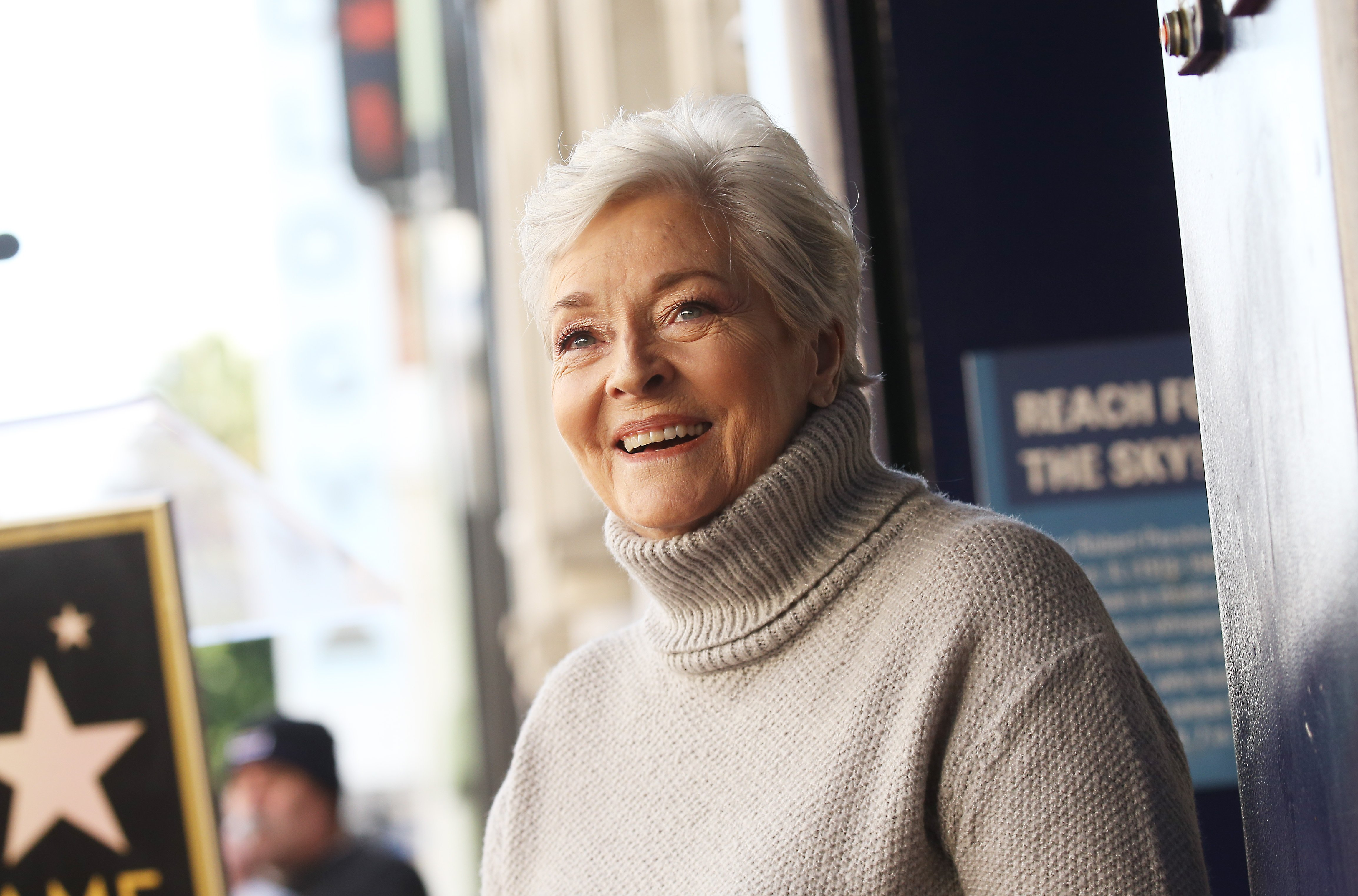 Lee Meriwether attends the ceremony honoring Burt Ward with A Star on the Hollywood Walk of Fame held on January 09, 2020   Photo: GettyImages