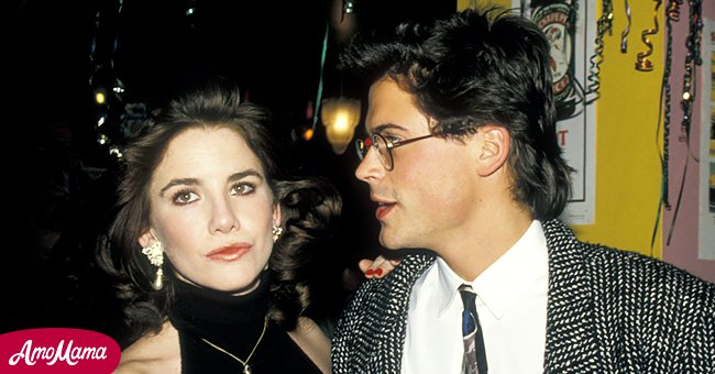 Picture of actress Melissa Gilbert and her lover Rob Lowe | Photo: Getty Images