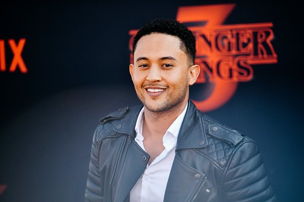 "Tahj Mowry at the premiere of Netflix's ""Stranger Things"" Season 3 in Santa Monica, California. 