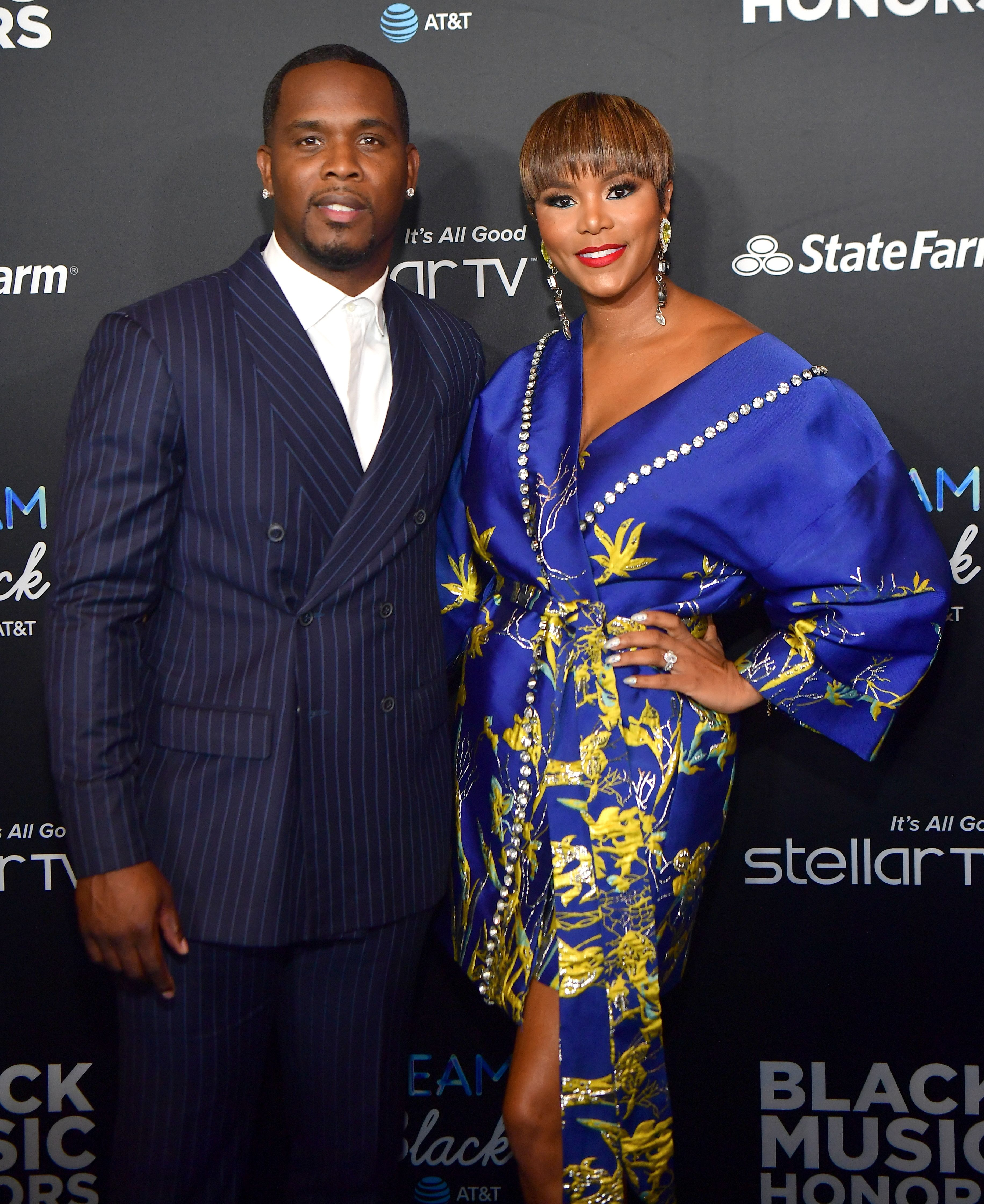 Tommicus Walker and LeToya Luckett-Walker during the 2019 Black Music Honors - Arrivals at Cobb Energy Performing Arts Center on September 5, 2019 in Atlanta, Georgia. | Source: Getty Images