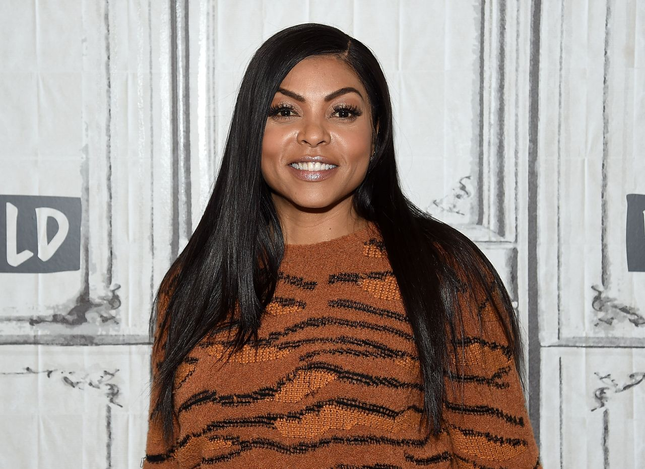 "Taraji P. Henson at Build Studio to promote her film, ""Acrimony"" in March 2018. 