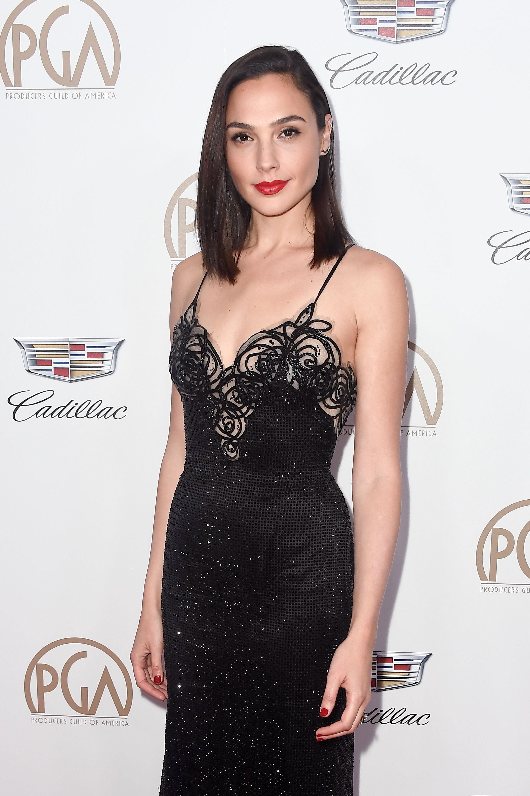 Gal Gadot at the 29th Annual Producers Guild Awards in 2018 in Beverly Hills, California | Source: Getty Images