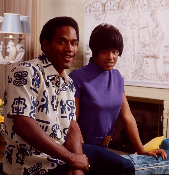 OJ Simpson at home with wife Marguerite Simpson. | Photo: Getty Images
