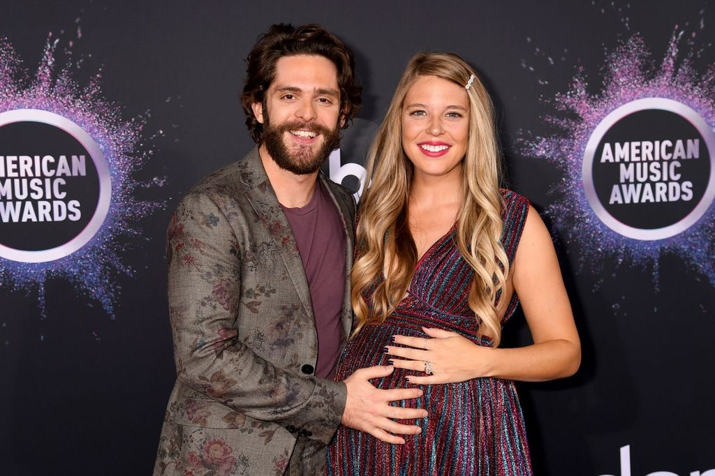 Thomas Rhett and Lauren Akins attend the 2019 American Music Awards, in November 2019 | Photo: Getty Images